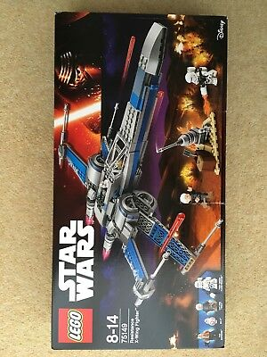 Lego 75149 - Star wars Resistance X-Wing 2016 Factory sealed - NEW SET B