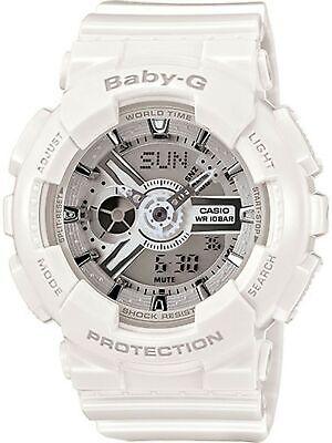 Casio Women's Baby-G Watch WHITE O/S