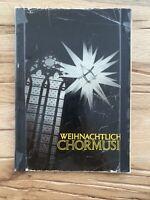 """Notenbuch """"Weihnachtliche Chormusik""""/Evangelische Verlagsanstalt Baden-Württemberg - Forst Vorschau"""