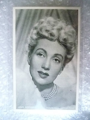 Postcard (Riche Album)-ANN SOTHERN;American Stage,Radio,Film &Television Actress