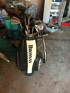 Assorted golf bag and clubs Sylvania Sutherland Area Preview