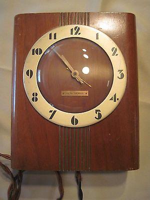 Seth Thomas Wood Wall/Mantel Clock, 1930's