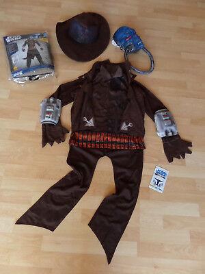 Star Wars Cad Bane Deluxe Kinder Kostüm L Gr. 140 - 146 - 8 - 10 Jahre - 1x - Cad Bane Deluxe Kostüm