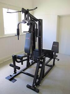 BodyWorx Home Gym with Leg Press.  150lb Weight Stack Conargo Conargo Area Preview