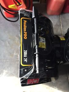 Brand New Snowblower Can Deliver