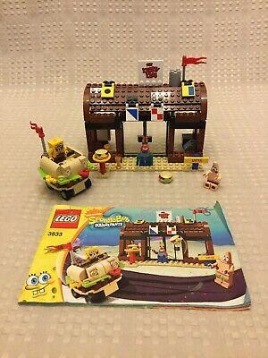 Lego Spongebob Squarepants 3833 Krusty Krab Adventures Guide 1 Missing Sticker