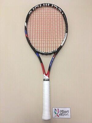 Yonex New Ezone 100 300G unbesaitet 300g Tennisschläger Schwarz-Blau NEU