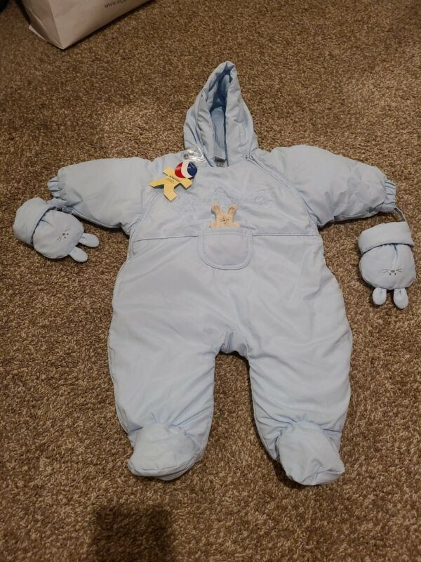 Absorba baby Snowsuit 9 Months