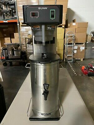 Refurbished Bunn Tb3q Iced Tea Brewer W Tdo-4 Dispenser Brewthru Lid Funnel