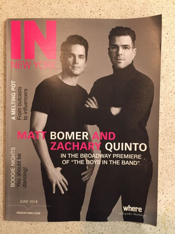 The Boys In The Band  Article In New York Magazine  Zachary Quinto  Matt Bommer