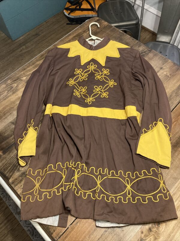 Vtg Masonic / Odd Fellows Fraternal Ceremonial Costume Robes C.E. Ward Medieval