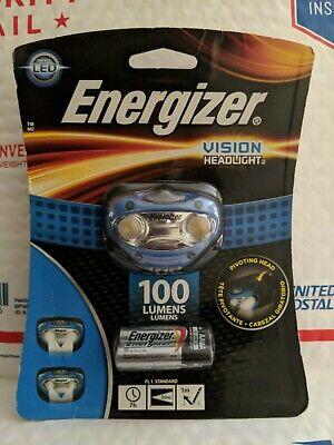 Energizer Universal Kopflampe 3 LED Headlight inklusive 3x AAA Baterien