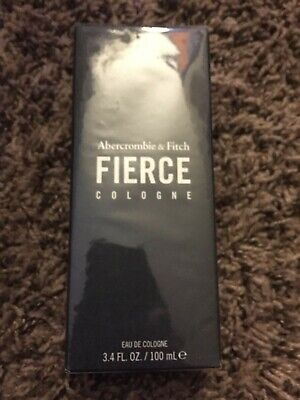 Abercrombie & Fitch Fierce 3.4 oz Cologne for Men(Brand New Sealed Box)