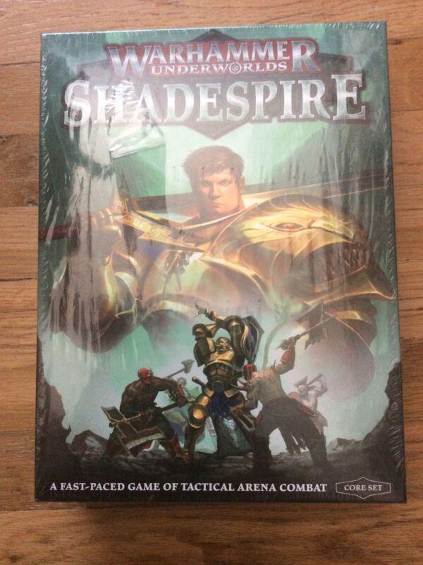 Warhammer Underworlds Shadespire Core Set STILL SEALED OOP Sold out on GW site