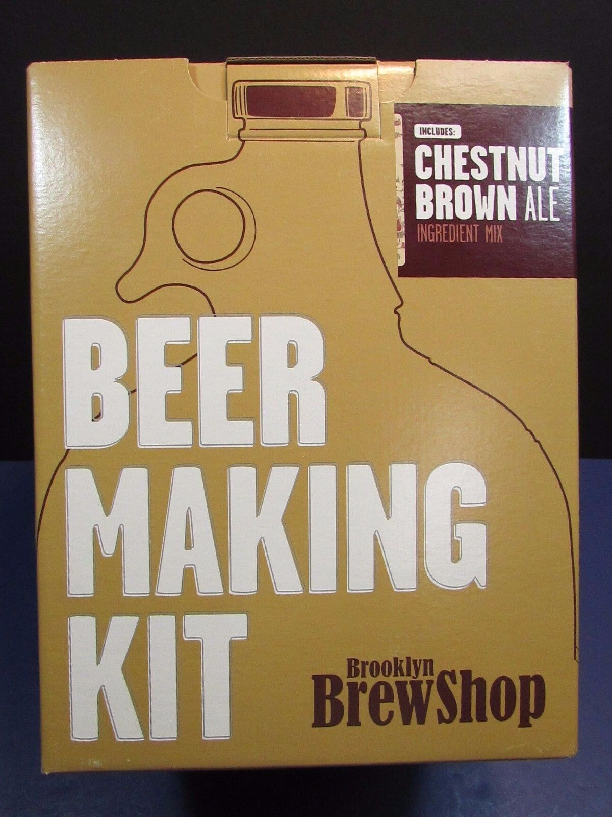 $20.00 - Beer Making Kit Brooklyn Brew Shop Everyday IPA NEW in BOX! Chestnut brown ale
