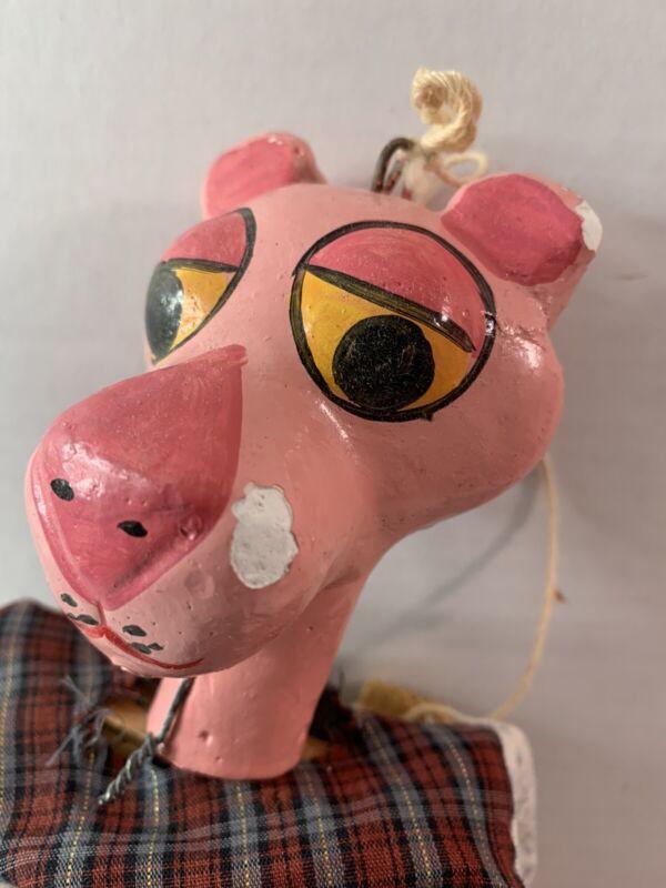 Vintage Pink Panther Marionette
