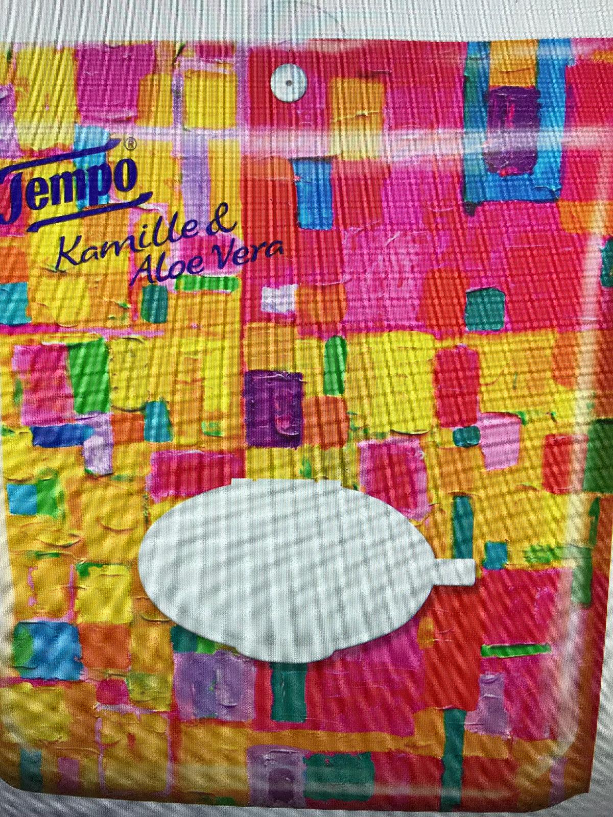 Tempo Feuchtes Toilettenpapier Kamille & Aloe Vera 1-lagig  6 Komfortbeutel