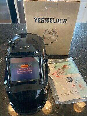 Yeswelder Welding Helmet Pro Weld Mask Hood Arc Tig Mig New Ships Free
