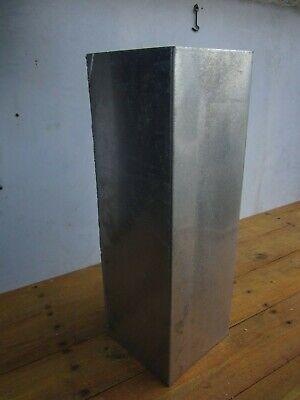 Large Aluminum Square Tube Pipe 24 X 8 Gauge 15