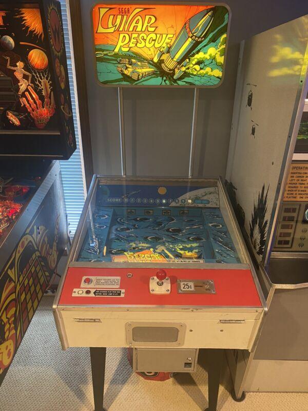1973 Sega Lunar Rescue Arcade Game