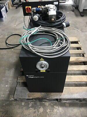 Coherent Highlight 1000fl Fiber Laser Weldercutter W Precitec Lightcutter Head