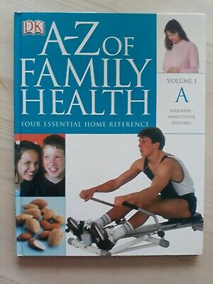 A-Z OF FAMILY HEALTH  -  VOLUME 1  -   A   -  HEALTH  -  DK   Dorling Kindersley for sale  Cannock