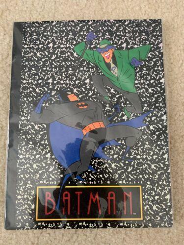Vintage Warner Bros Studio Store BTAS Batman Animated Series Riddler Notebook