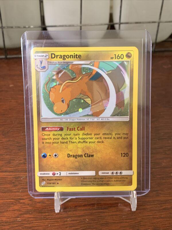 Pokémon Dragonite 119/181 Holo Rare Pokemon Card