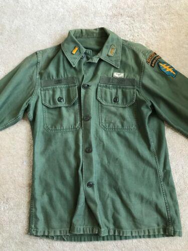 Vietnam Era Special Forces Ranger Type II Utility Uniform Fatigue, Peder Lund