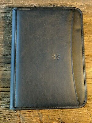 Leeds Legal Leather Zip Up Legal Pad Holder