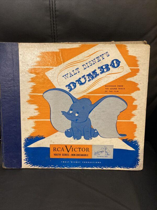 Walt Disney's Dumbo. 3 Record Set. Rca Victor. Soundtrack.