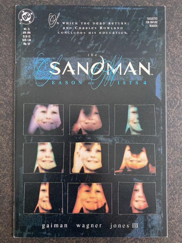 SANDMAN #25 1ST DEAD BOY DETECTIVES 1991 GAIMAN DC VERTIGO NM SHARP HIGH GRADE🔥