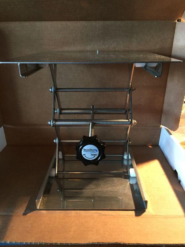 "10"", 24 cm Stainless Steel Laboratory Jack Stand, Scissors, BrandTech B11140"