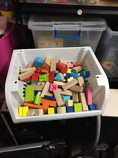 Box of blocks
