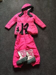 Girls Ski Jacket, Pants and Boots Attadale Melville Area Preview