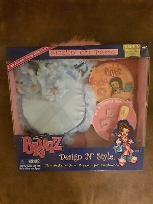 BRATZ    Design 'N' Style Sizzlin CD Purse   MGA