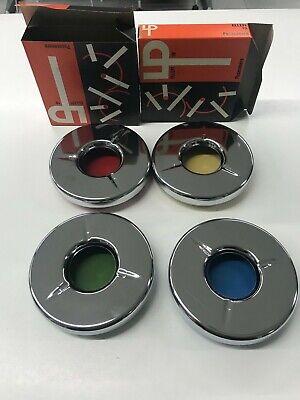 Posacenere Anni 60 LP mod. 19 verde in scatola Vintage Modernariato 4 colori