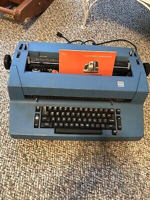 Blue Ibm Correcting Selectric 2 Ii Electric Typewriter Ii Partially Works