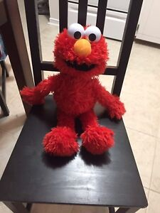 Talking Play All Day Elmo with ***FREE***Elmo Potty Book $25 OBO