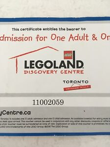 Legoland - adult and child pass