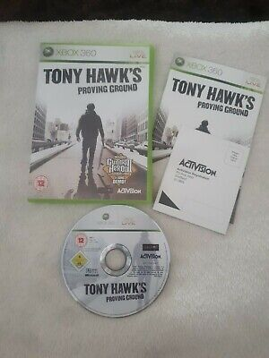 Tony Hawk's: Proving Ground (Microsoft Xbox 360, 2007) complete
