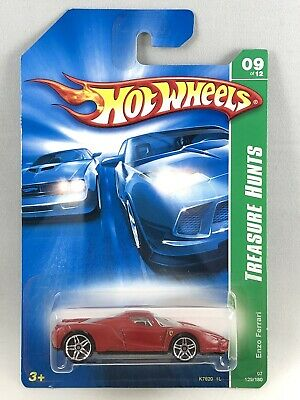 Hot Wheels Ferrari Enzo - 2007 Treasure Hunt - Red - Sealed