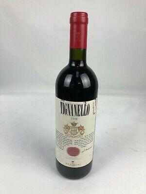 KI ) MARCHESI ANTINORI Tignanello 1998  VINO DA TAVOLA 0,75L TOSKANA Italien
