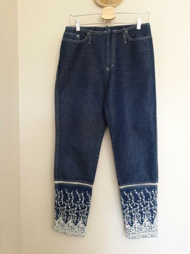 trÉs rare jeans jean paul gaultier vintage broderies État neuf taille haute