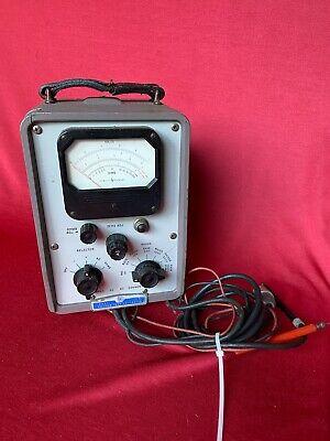 HP Vacuum Tube Voltmeter 410B Radio Repair Made in USA