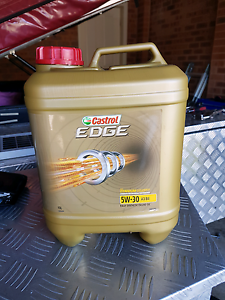 Castrol edge 5w-30 10lt unopened Quakers Hill Blacktown Area Preview