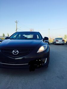 2009 Mazda6 GT/all black/leather $6500