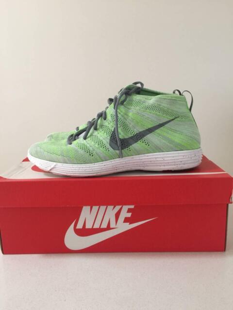 2d88fe09788f Nike - LUNAR FLYKNIT CHUKKA - US13 - WOLF GREY  47 ...