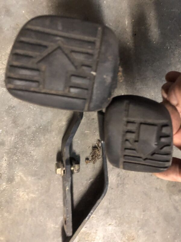 John Deere X300 Forward & Reverse Foot Pedals Controls