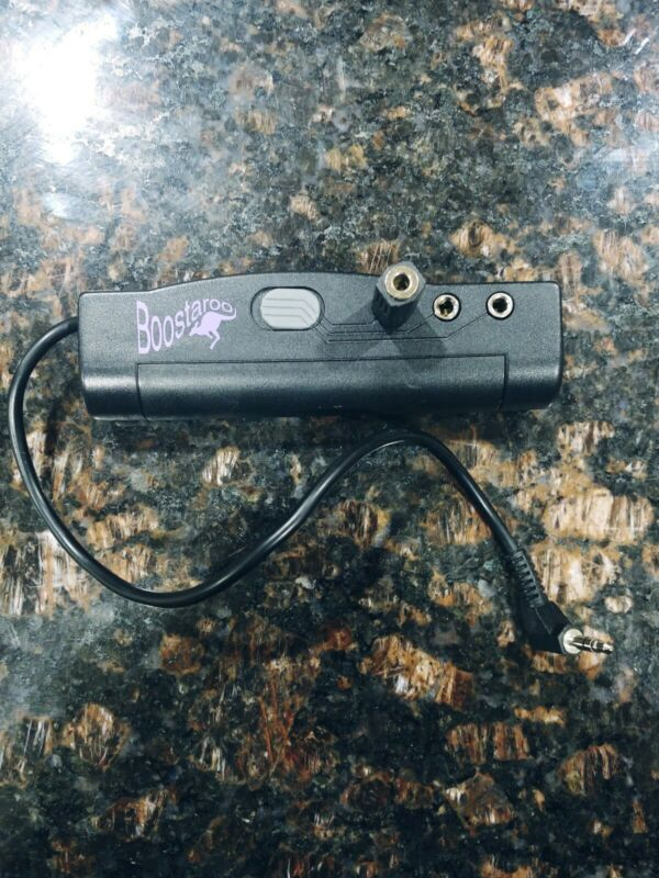 Boostaroo Portable Headphone Amplifier / 3-Way Splitter by Upbeat Audio T613